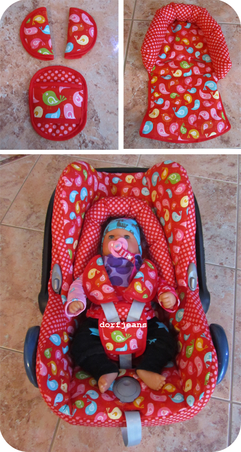 Bezug für die Babyschale