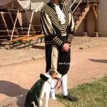 Sir Jacky und Herrchen